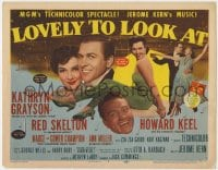 5b074 LOVELY TO LOOK AT TC 1952 sexy Ann Miller, wacky Red Skelton, Howard Keel & Kathryn Grayson!