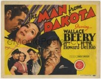 5b075 MAN FROM DAKOTA TC 1940 Wallace Beery, Dolores Del Rio, John Howard, Civil War