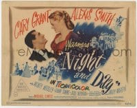 5b079 NIGHT & DAY TC 1946 Cary Grant as composer Cole Porter, Alexis Smith, Michael Curtiz!