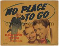 5b080 NO PLACE TO GO TC 1939 Dennis Morgan, Gloria Dickson, confused Fred Stone, Edna Ferber!