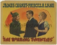 5b730 ROARING TWENTIES LC 1939 bootlegger James Cagney with Priscilla Lane & Gladys George!