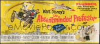 5c081 ABSENT-MINDED PROFESSOR 24sh 1961 Disney, Flubber, Fred MacMurray in title role, ultra-rare!