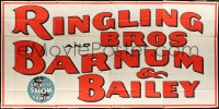 5c076 RINGLING BROS & BARNUM & BAILEY circus 12-sheet poster 1944 The Greatest Show on Earth!
