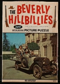 5c006 BEVERLY HILLBILLIES game & puzzle set 1963 Jed, Jethro & Elly May move to Beverly Hills!