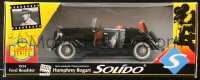 5c022 CASABLANCA die-cast metal car 1994 Humphrey Bogart, Ford V-8 Roadster Solido!
