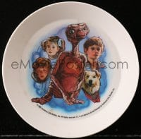 5c029 E.T. THE EXTRA TERRESTRIAL plate 1983 great color images of characters from the movie!