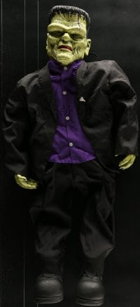 5c023 FRANKENSTEIN doll 1960s cool doll with purple shirt and black suit, perfect for Halloween!