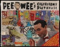 5c021 PEE-WEE'S PLAYHOUSE Colorform playset 1987 Paul Rubens in the title role, still sealed!