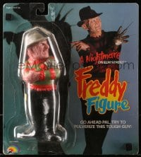 5c035 NIGHTMARE ON ELM STREET action figure 1989 Freddy, LJN Toys, go ahead and try to pulverize!