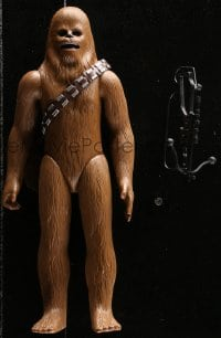 5c043 STAR WARS action figure 1978 George Lucas sci-fi classic toy, Chewbacca with Bowcaster!