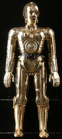 5c051 STAR WARS Kenner large size action figure 1978 George Lucas sci-fi classic toy, C-3PO!