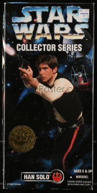 5c038 STAR WARS action figure 1996 Kenner Collector's Series, Harrison Ford as Han Solo!