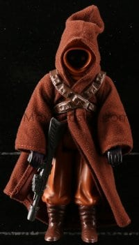 5c050 STAR WARS action figure 1979 George Lucas sci-fi classic toy, Jawa with rifle!