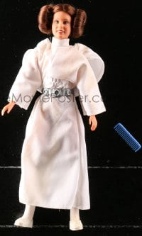 5c046 STAR WARS action figure 1978 George Lucas sci-fi classic toy, Princess Leia with comb!