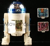 5c047 STAR WARS action figure 1978 George Lucas sci-fi classic toy, R2-D2 with Death Star plans!