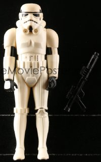 5c048 STAR WARS action figure 1978 George Lucas sci-fi classic toy, Storm Trooper with rifle!