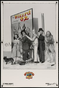 5c074 WIZARD OF OZ video standee R1989 Victor Fleming, Judy Garland all-time classic!