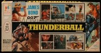 5c061 THUNDERBALL board game 1965 Sean Connery as James Bond, cool images from the movie!