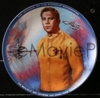 5c013 STAR TREK 7 collector plates 1984-1985 Ernst, Paramount, Kirk, Spock, top cast!