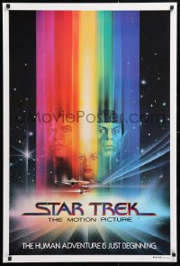 5f009 STAR TREK Aust 1sh 1979 Shatner, Nimoy, Khambatta and Enterprise by Peak!