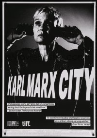 5f071 KARL MARX CITY Canadian 1sh 2016 wild image of Christa Epperlein, former East Germany!