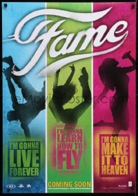 5f036 FAME teaser DS Dutch 2009 Kay Panabaker, Walter Perez, I'm gonna live forever, colorful design