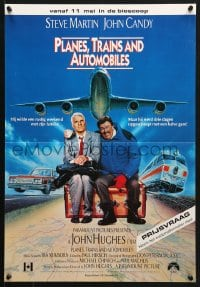 5f038 PLANES, TRAINS & AUTOMOBILES advance Dutch 1987 John Hughes, Steve Martin & John Candy classic!