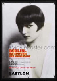 5f075 BERLIN: SYMPHONY OF A GREAT CITY German R2018 Die Symphonie der Grossstadt, Louise Brooks!