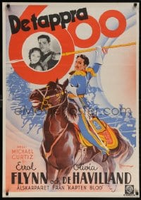 5f042 CHARGE OF THE LIGHT BRIGADE Swedish 1937 Errol Flynn, Olivia De Havilland