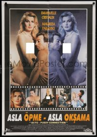 5f008 OCTOPUSSY CONNECTION Turkish 1994 James Bond parody, Emanuelle Cristaldi, Maurizia Paradiso!