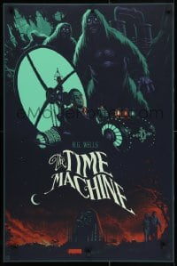 5g015 TIME MACHINE #48/250 24x36 art print 2015 completely different Julien Lois sci-fi artwork!