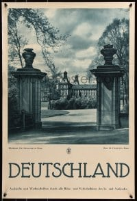 5g070 DEUTSCHLAND Bonn! 20x29 German travel poster 1930s great images from Germany!