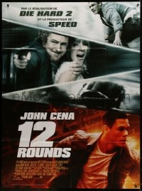 5j033 12 ROUNDS French 1p 2009 Renny Harlin directed, cool image of John Cena!