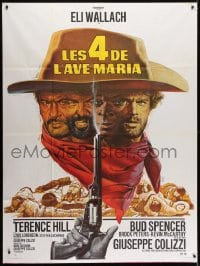 5j040 ACE HIGH French 1p R1970s Eli Wallach, Terence Hill, spaghetti western, different Mascii art!