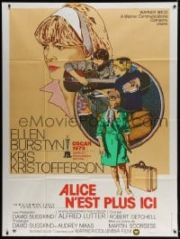 5j052 ALICE DOESN'T LIVE HERE ANYMORE French 1p 1975 Scorsese, Kristofferson, Petragnani art!