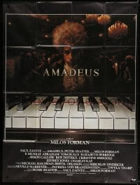 5j059 AMADEUS French 1p 1984 Milos Foreman, Mozart biography, winner of 8 Academy Awards!