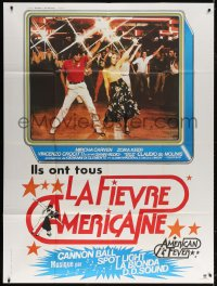 5j063 AMERICAN FEVER French 1p 1978 Saturday Night Fever rip-off with disco dancers!