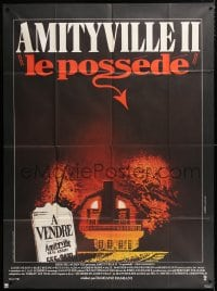 5j066 AMITYVILLE II French 1p 1982 The Possession, haunted house, directed by Damiano Damiani!