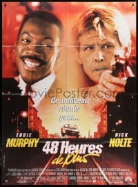 5j072 ANOTHER 48 HRS French 1p 1990 ex-con Eddie Murphy & cop Nick Nolte are back in town!