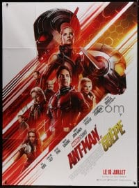 5j074 ANT-MAN & THE WASP advance French 1p 2018 Marvel, Paul Rudd, Evangeline Lilly, Michael Douglas
