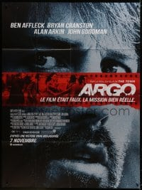5j080 ARGO advance French 1p 2012 Ben Affleck, based on the declassified true story!