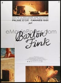 5j102 BARTON FINK French 1p 1991 Coen Brothers, John Turturro, great different image!