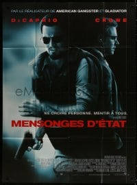 5j162 BODY OF LIES French 1p 2008 directed by Ridley Scott, Leonardo DiCaprio, Russell Crowe