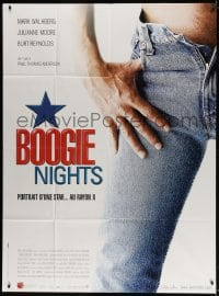 5j165 BOOGIE NIGHTS French 1p 1997 Paul Thomas Anderson, completely different sexy close up image!