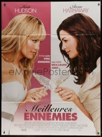 5j173 BRIDE WARS French 1p 2009 great images of Kate Hudson, Anne Hathaway, Bryan Greenberg!