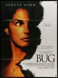 5j180 BUG French 1p 2006 directed by William Friedkin, creepy image of Ashley Judd!