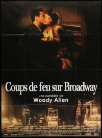 5j181 BULLETS OVER BROADWAY French 1p 1994 John Cusack, Dianne West, directed by Woody Allen!