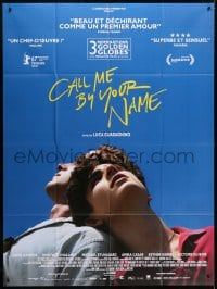 5j188 CALL ME BY YOUR NAME French 1p 2018 Hammer, Chalamet, gay homosexual romantic melodrama!