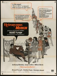5j190 CAN HEIRONYMUS MERKIN EVER FORGET MERCY HUMPPE & FIND TRUE HAPPINESS French 1p 1969 sexy art!