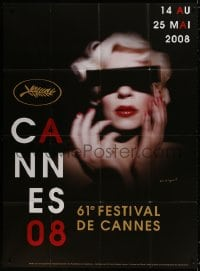 5j191 CANNES FILM FESTIVAL 2008 French 1p 2008 cool design by Pierre Collier & David Lynch!